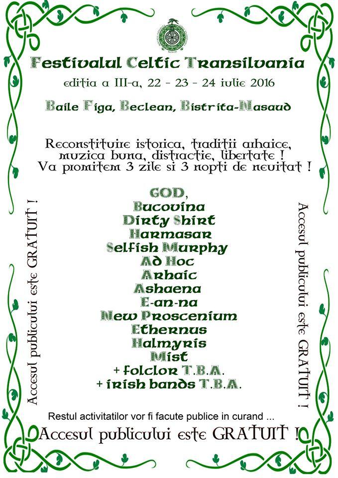 celtic transilvania