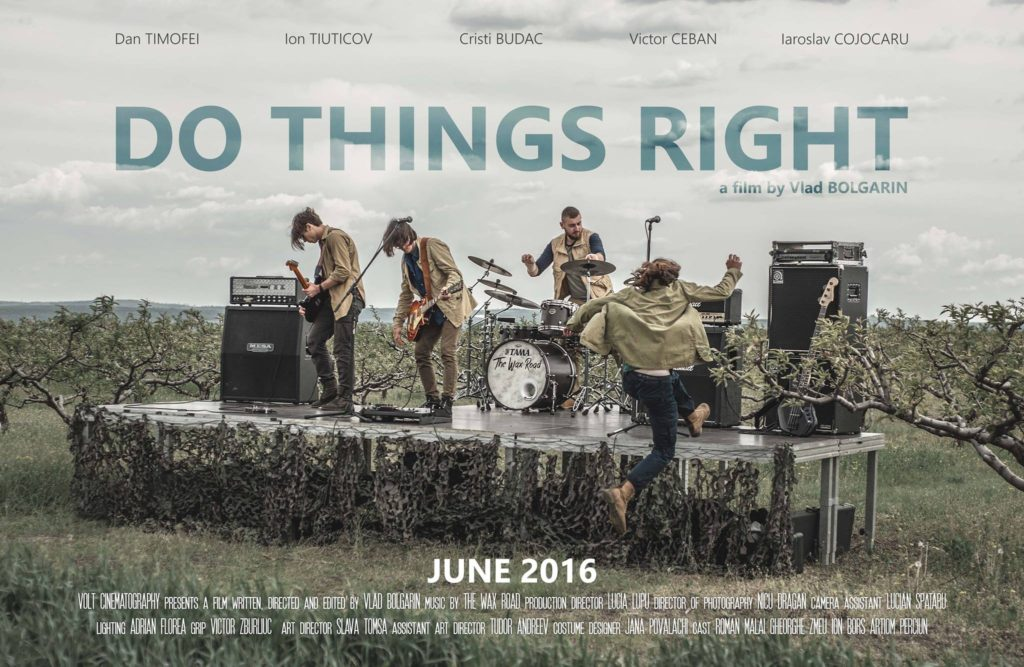 Do things right Poster
