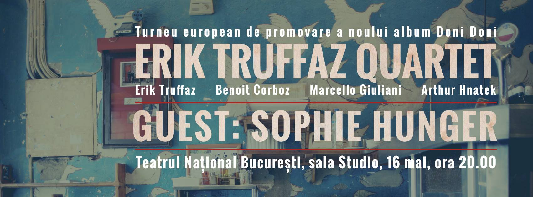 Sophie Hunger Erik Truffaz Quartet