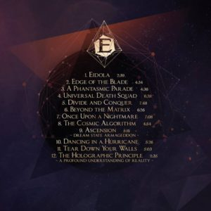 Epica back cover