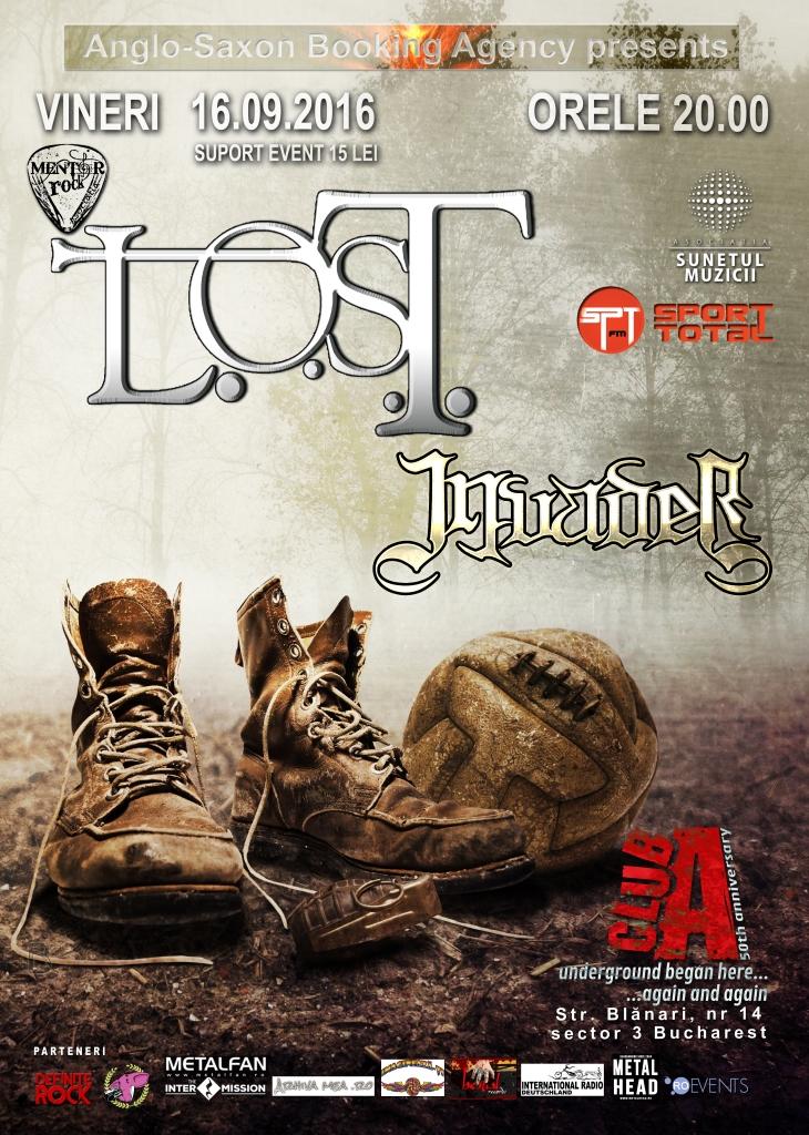 Lost Invader Club A Bucuresti 16.09.2016