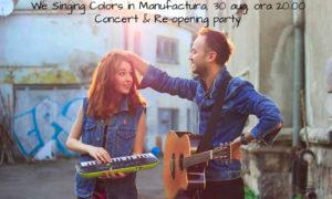We Singing Colors Manufactura_30 aug 2018